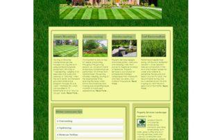 landscaper website development