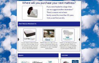 mattress store web