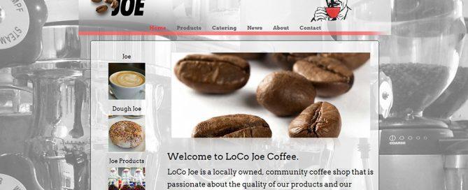 coffee shop Wordpress