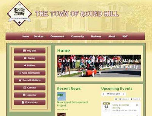 Town Website Development