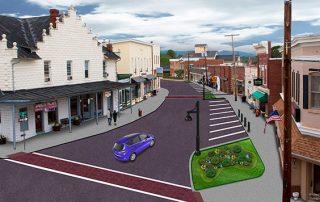 3d street design