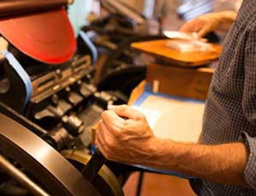 Letterpress – Design and production using historic techniques