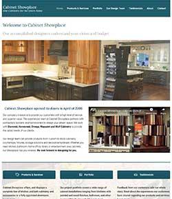 cabinet shop wordpress
