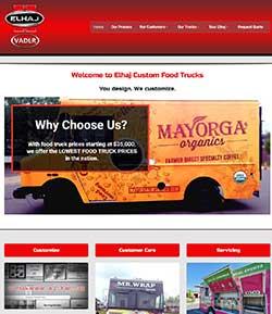 food truck web design