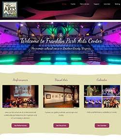 theater web design