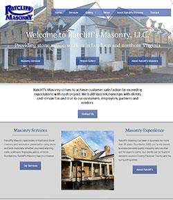 masonry website development